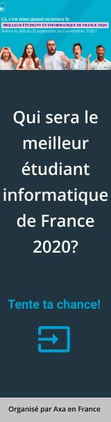Meilleur étudiant de France 2020