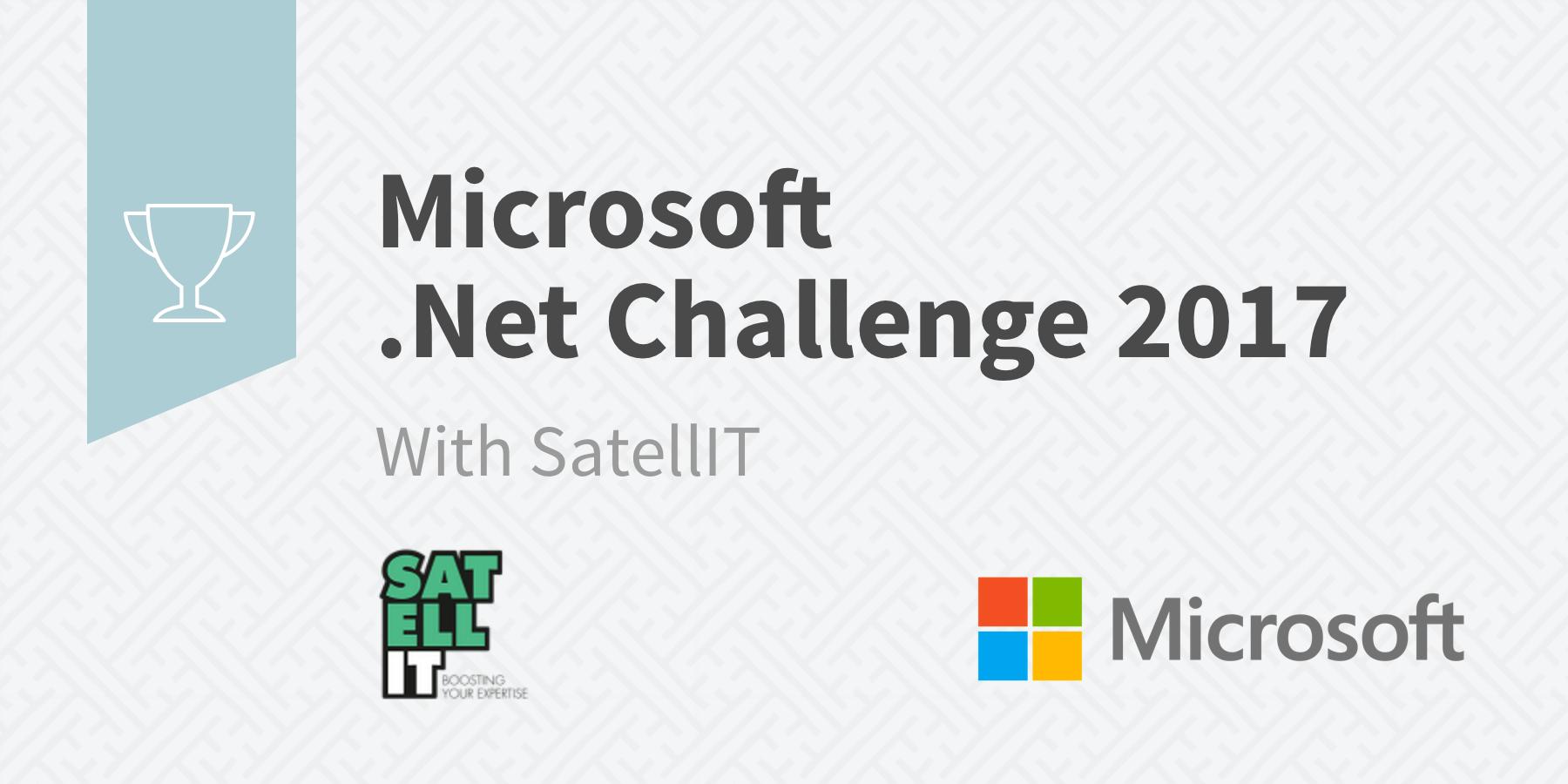 Microsoft .Net Challenge Belgium 2017