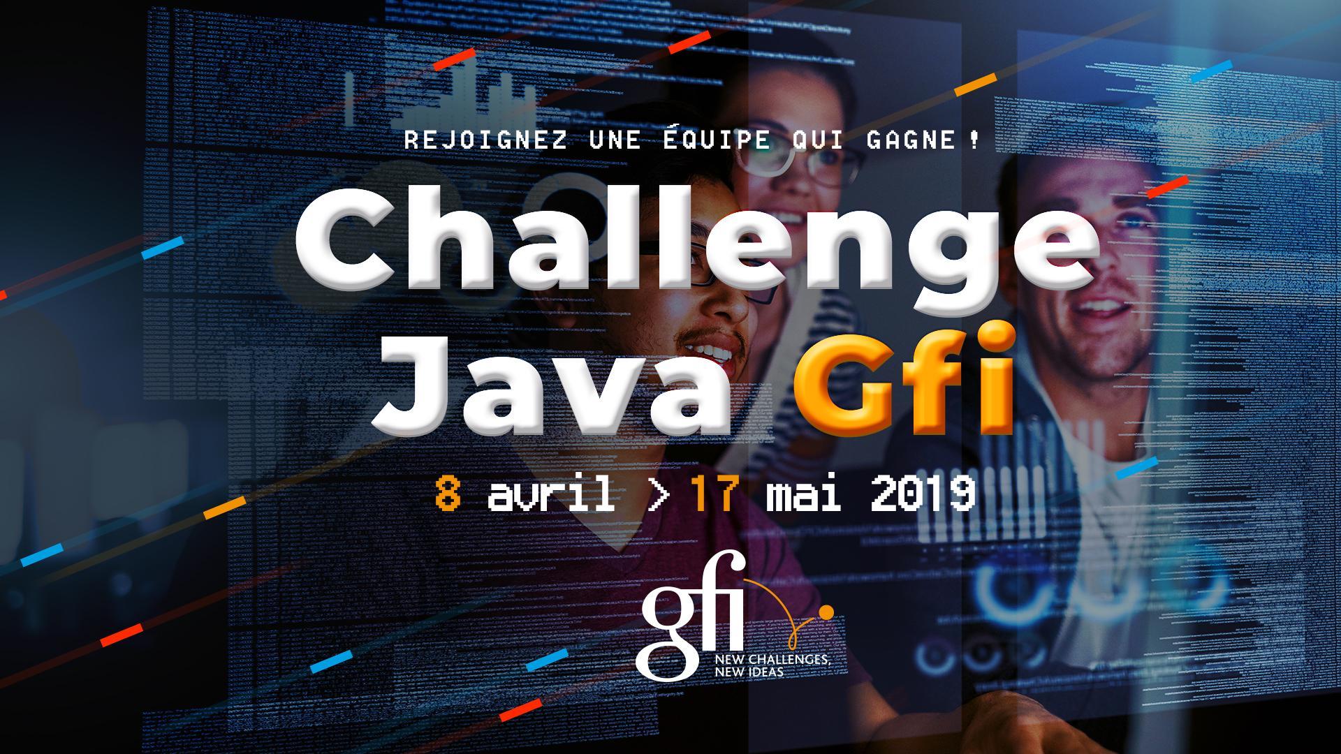 banner Java Challenge France 2019 GFI