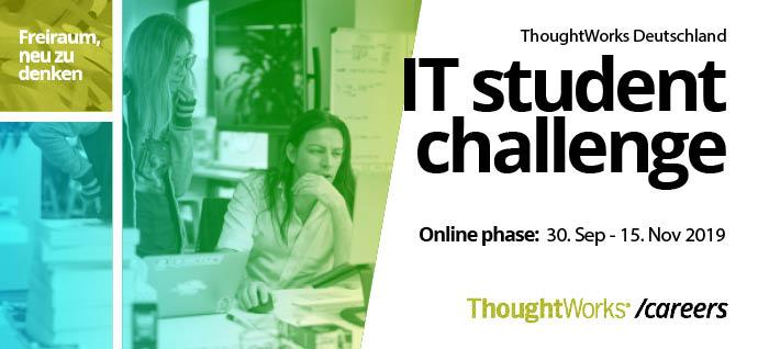 IT Student Challenge Germany Toughtworks