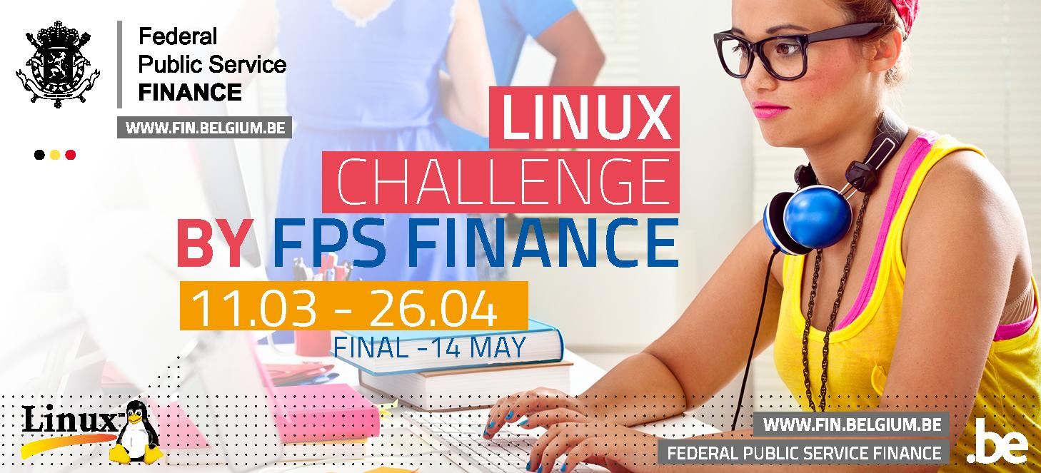 banner Linux Challenge 2019 by FPS Finance