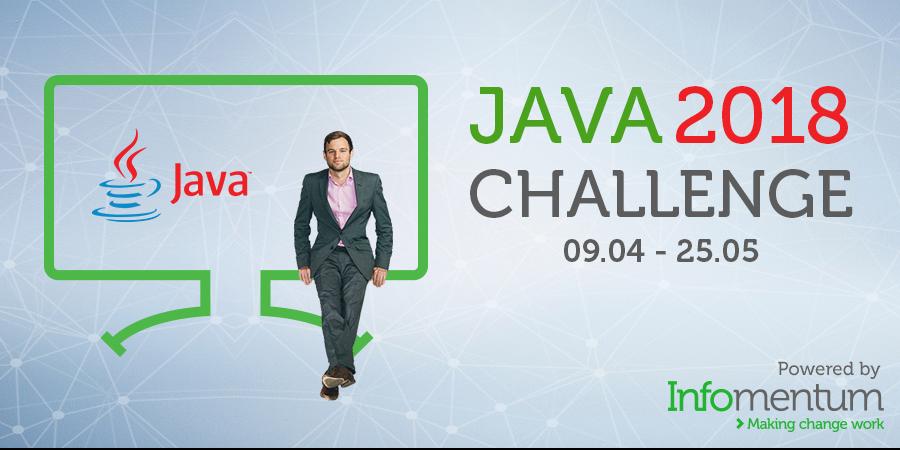 Banner Java Challenge UK Infomentum