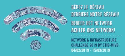 banner network infra challenge stib mivb editx