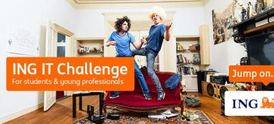 Banner ING IT Challenge for students & young professionals