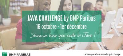 Banner Java Challenge France 2017