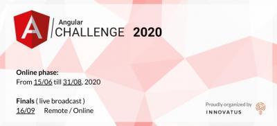 Banner Angular Challenge 2020 Europe
