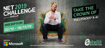 Banner Microsoft .Net Challenge Belgium 2019