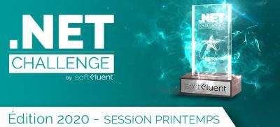 Banner Microsoft .NET Challenge France 2020 - Sélection Printemps
