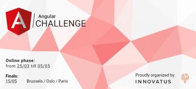 Banner Angular Challenge Europe 2019