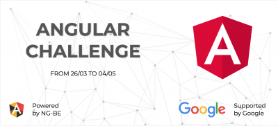 Banner Angular Challenge by NG-BE & Google