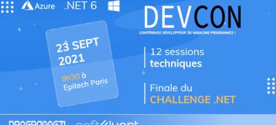 Banner Ce quizz est réservé aux participants de la DevCon