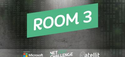 Banner Room 3, Finals .Net Challenge Belgium