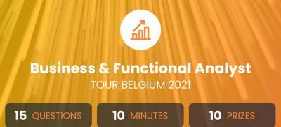 Banner Business & Functional Analyst Tour Belgium 2021